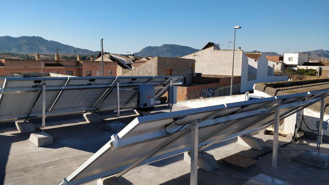 Energía solar fotovoltaica en Murcia