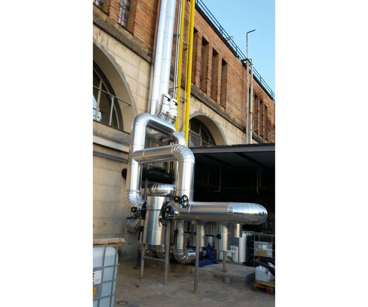 Trabajos de aislamiento de tuberías en Barcelona