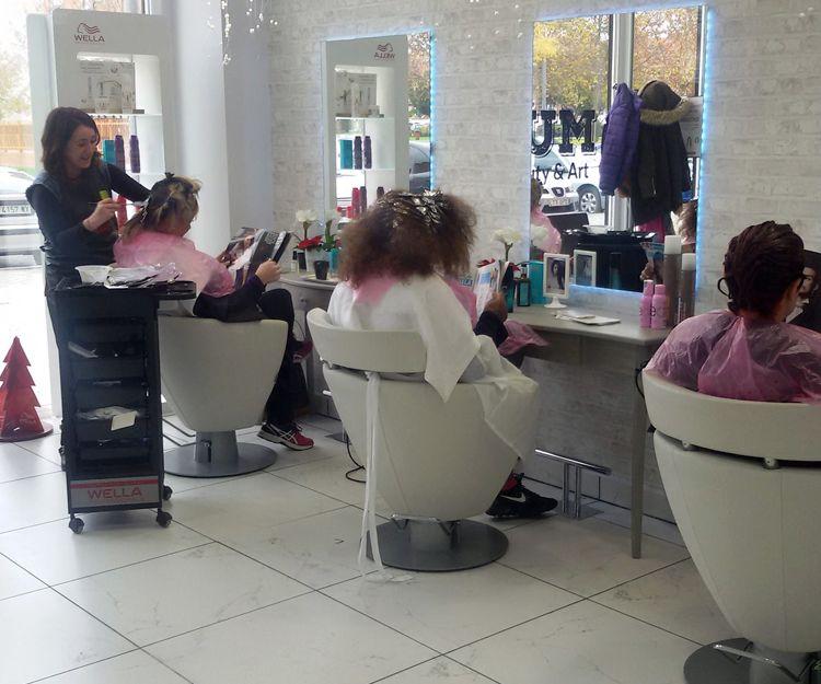Salón de peluquería en Móstoles