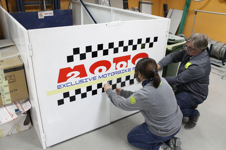 Profesionales en pintura de motos