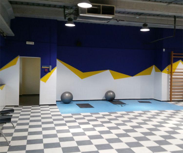 Pintura de gimnasio