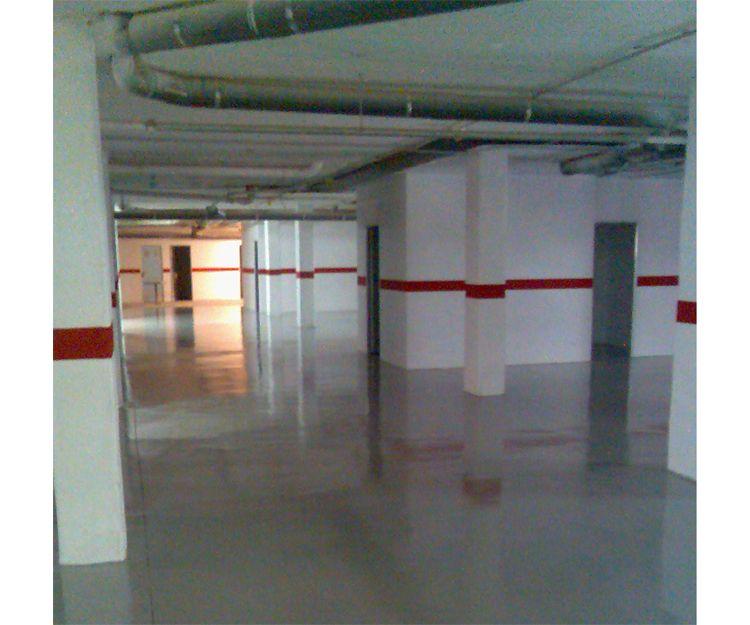 Pintores profesionales de parkings