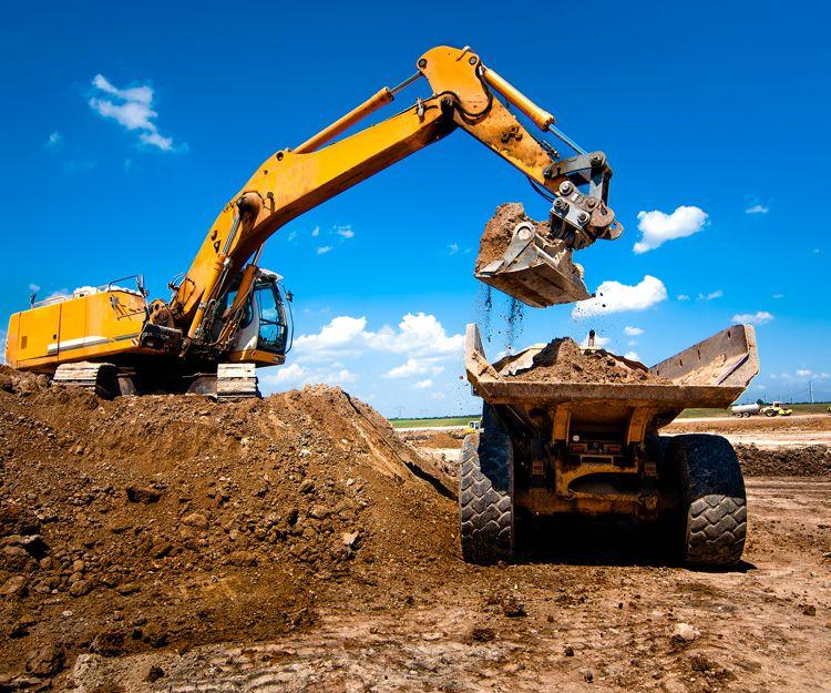 Transporte de material de construcción en Tenerife