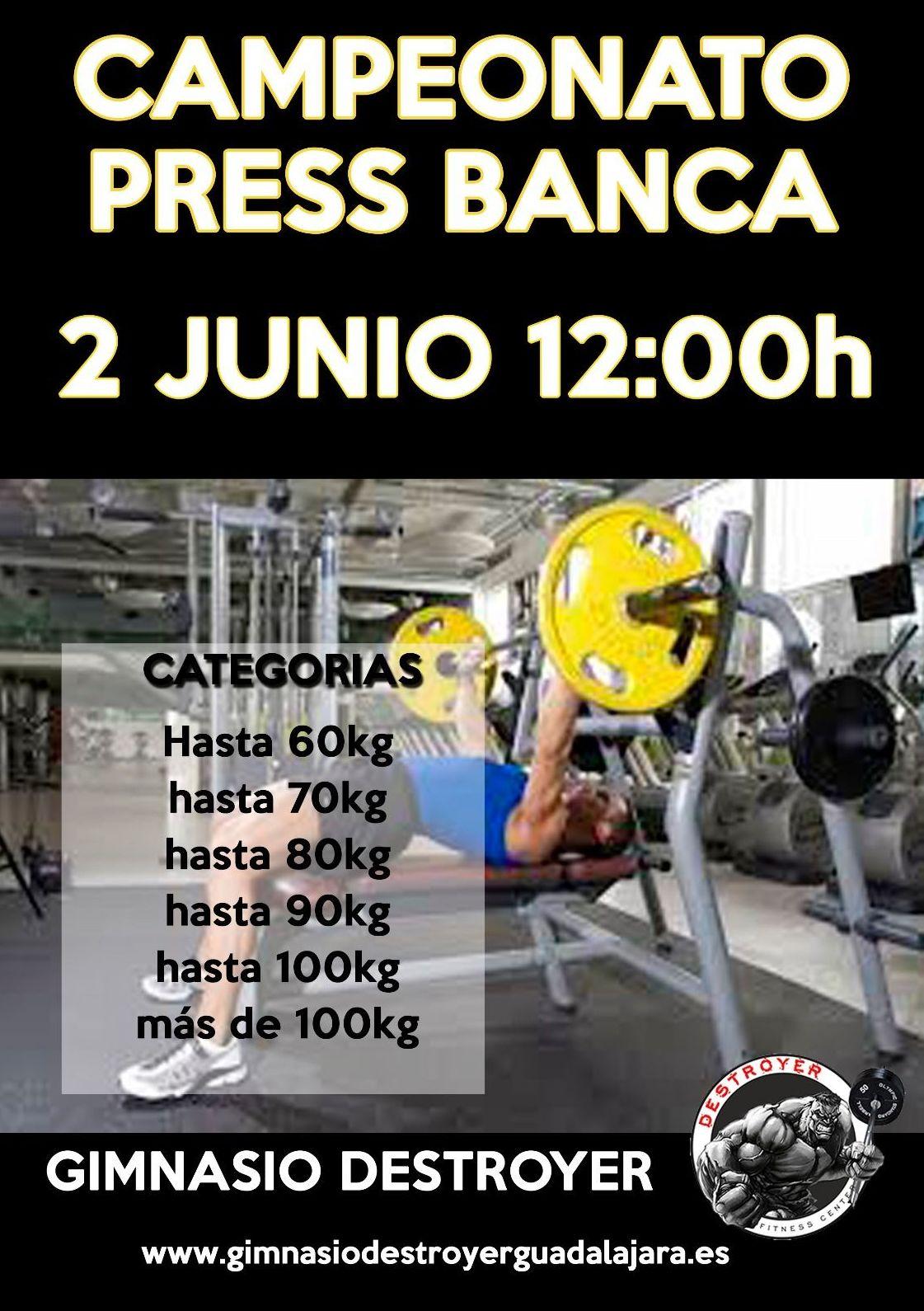 CAMPEONATO PRESS BANCA, El 2 de JUNIO