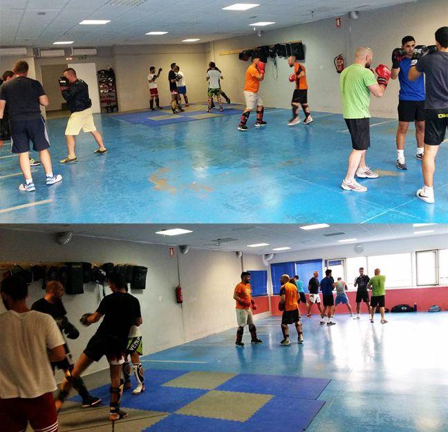 Gimnasio para practicar boxeo en Guadalajara
