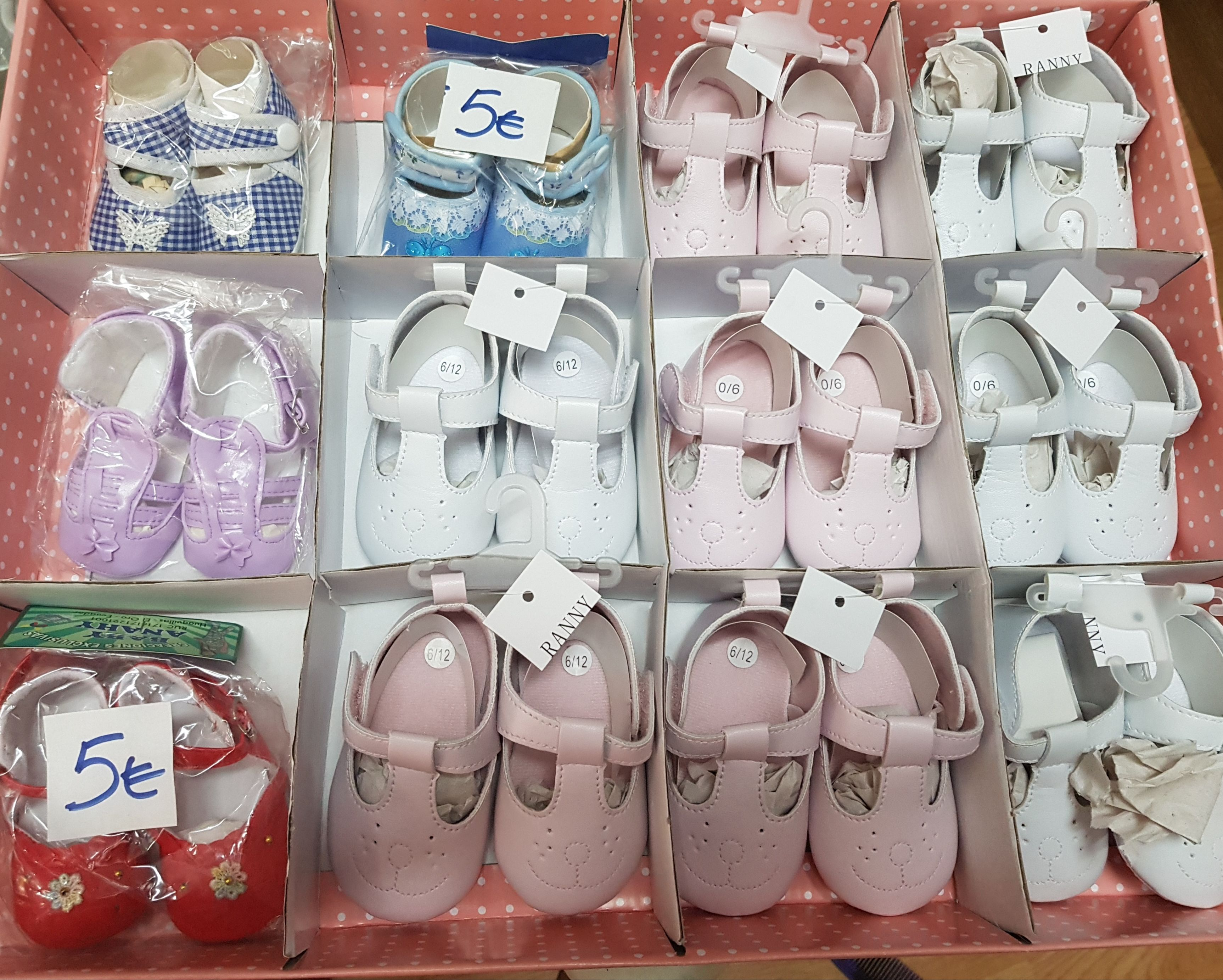 MOda y calzados para bebés