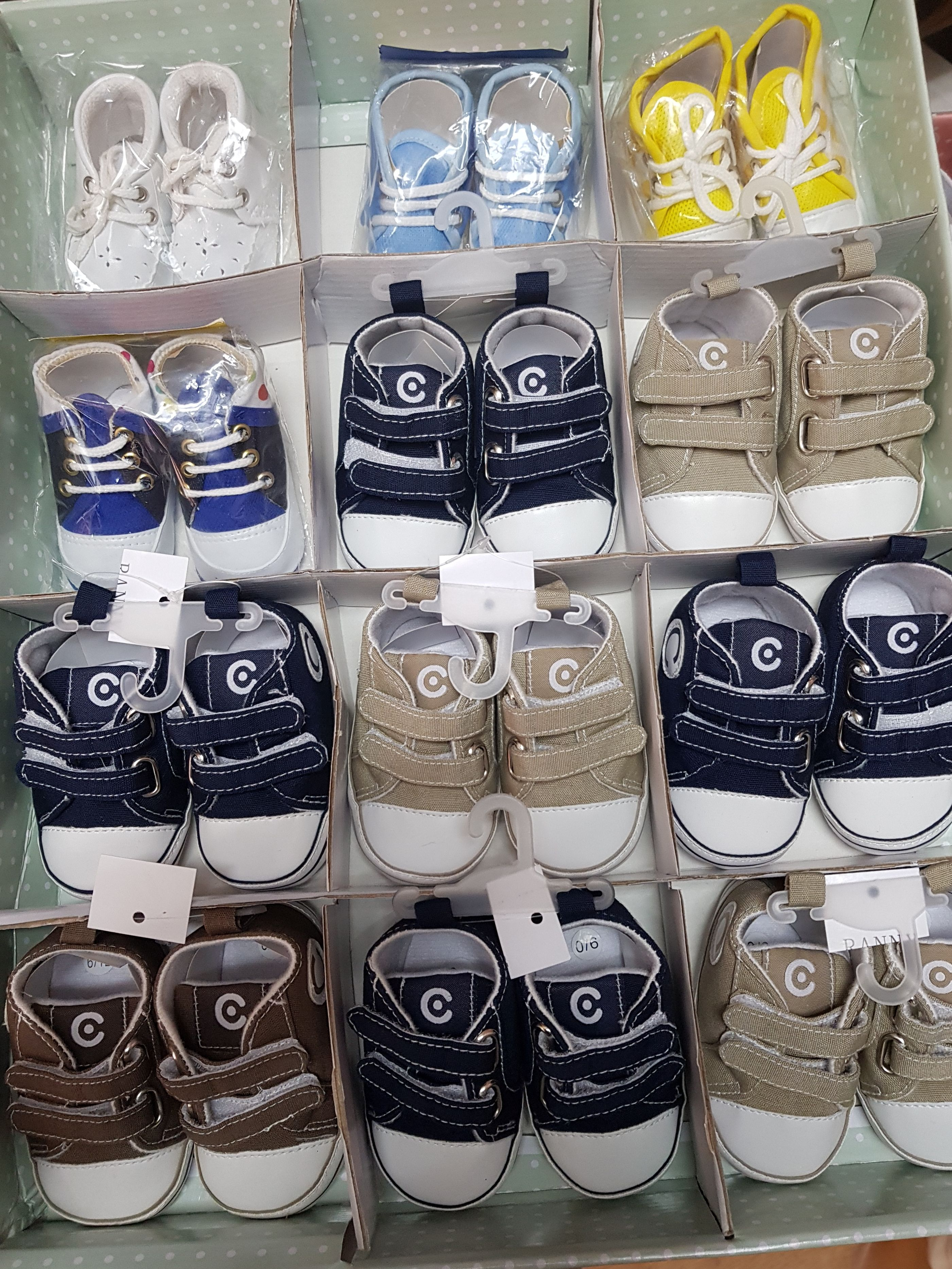 Venta de calzado para niños en Madrid