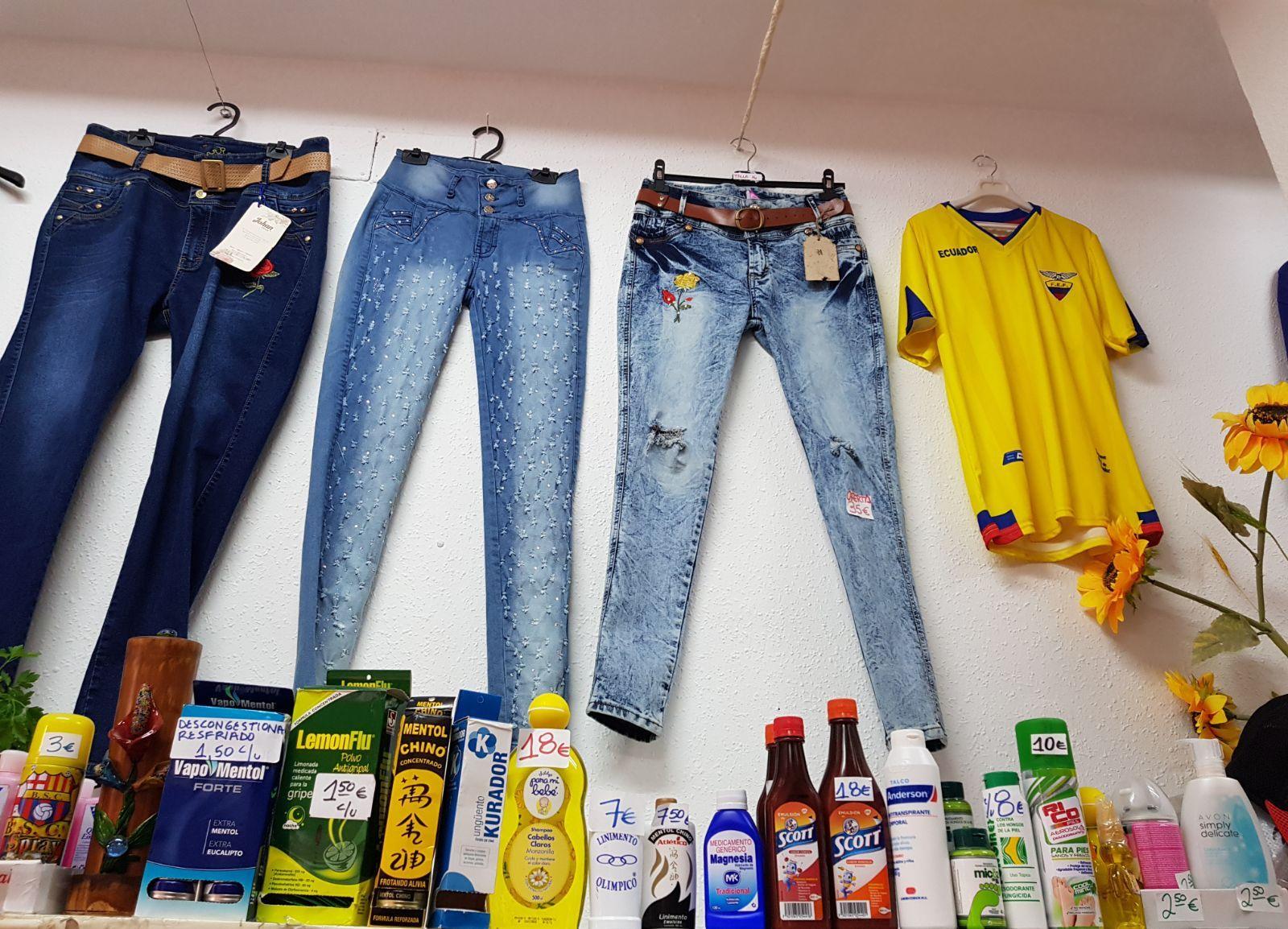 Pantalones vaqueros en Madrid