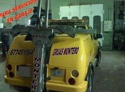 Grúa para servicios en garajes en Madrid