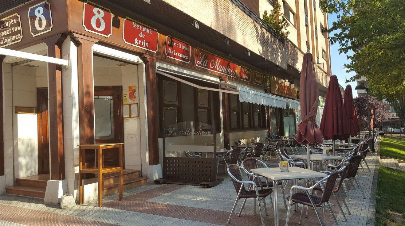 Terraza del restaurante en Guadalajara