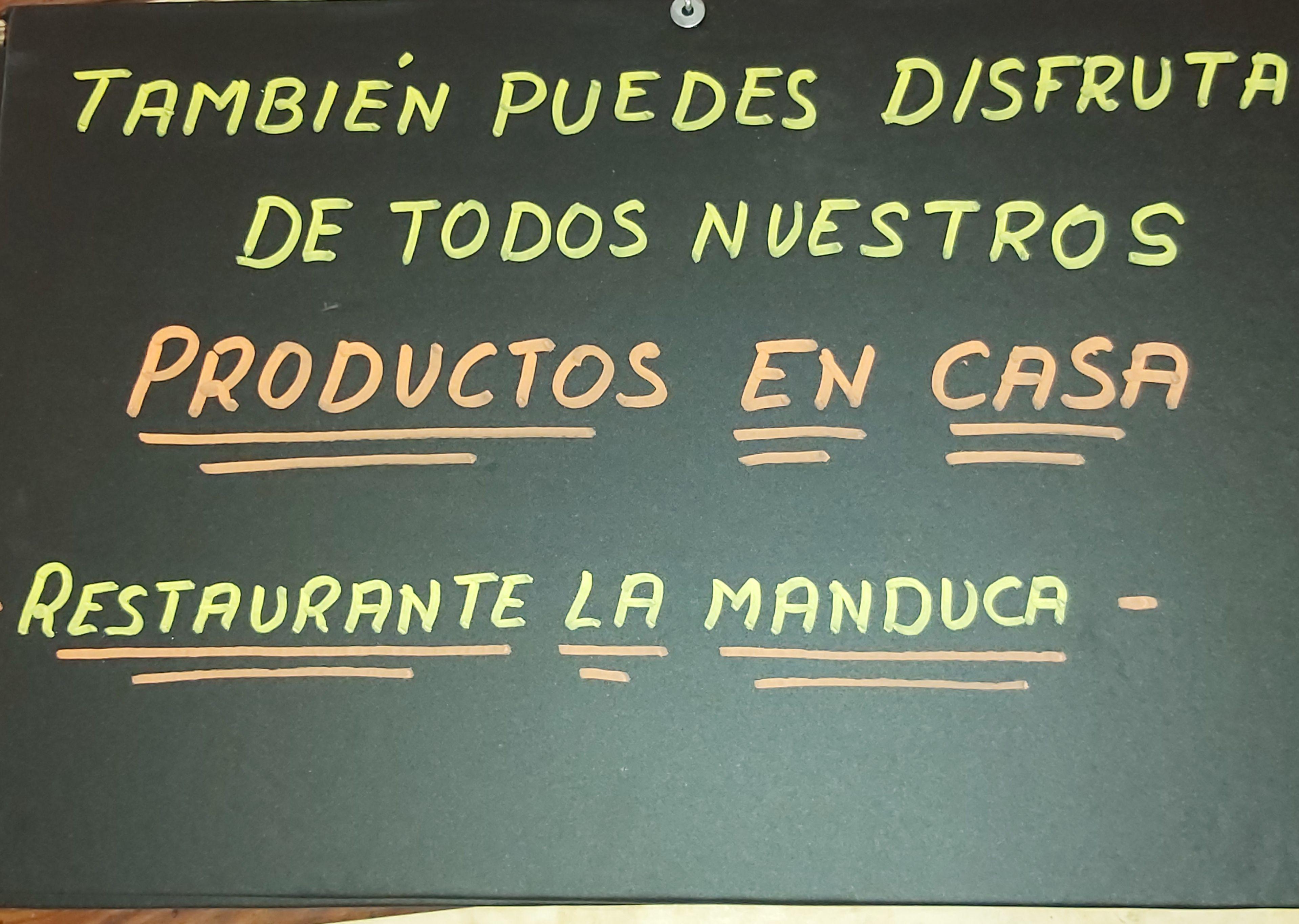 Comida para llevar - Restaurante La Manduca en Guadalajara
