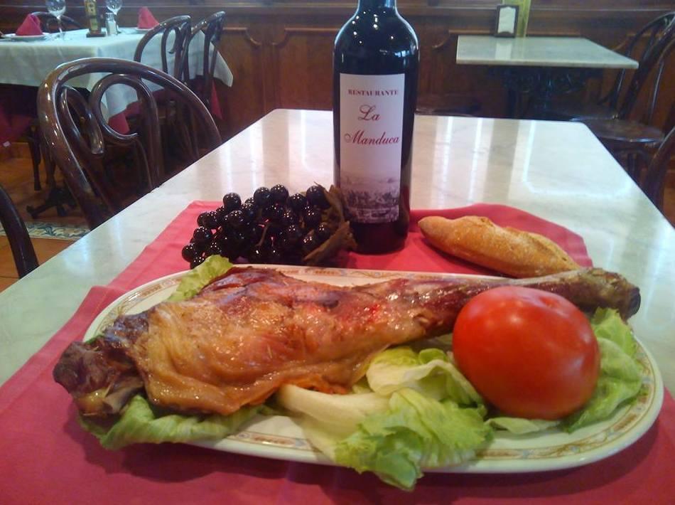 El chef recomienda: Carta de Restaurante La Manduca