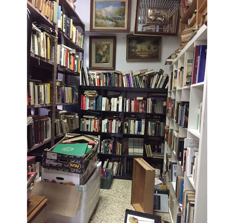 Venta de libros antiguos en Bilbao