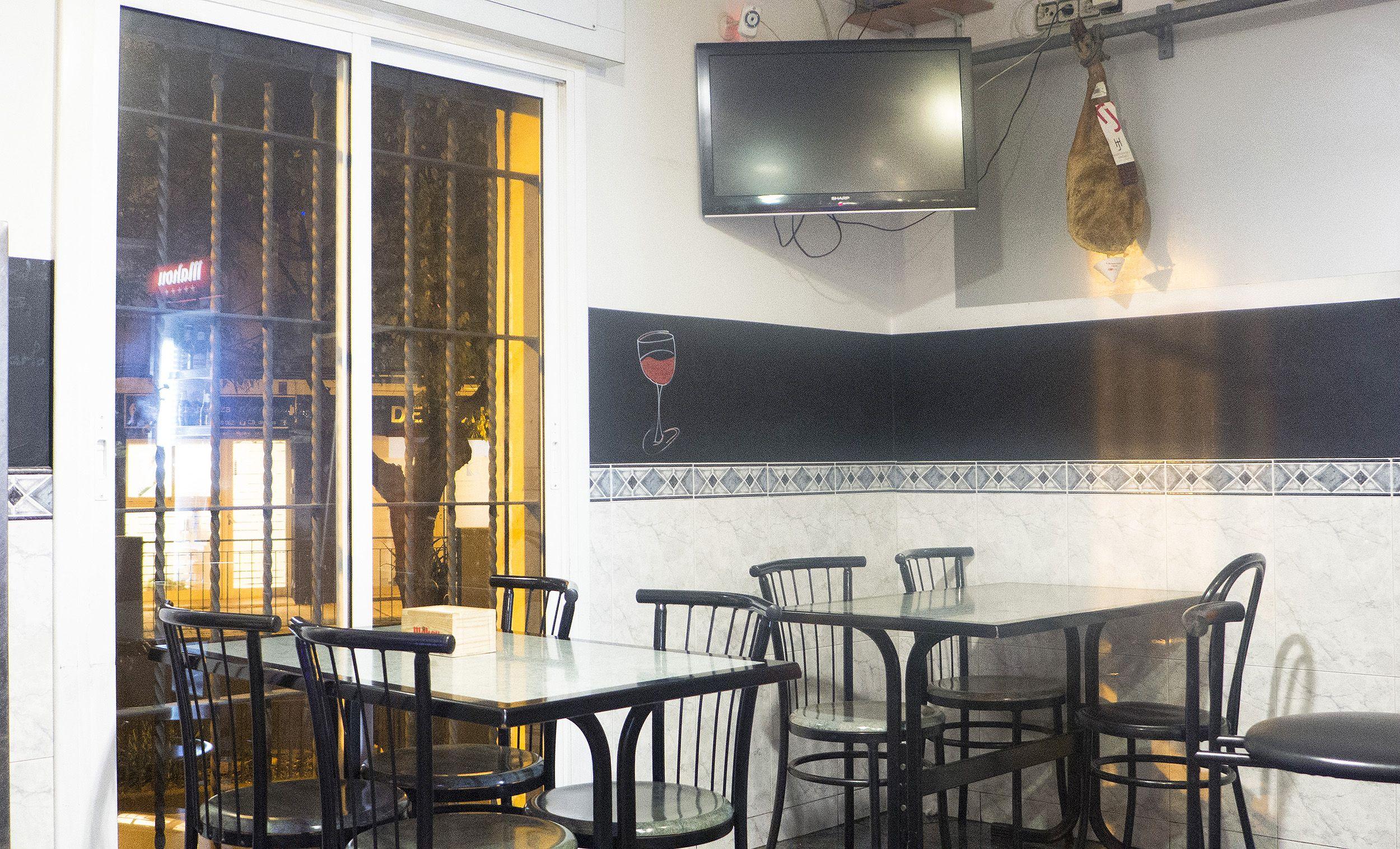 Bar de tapas en Barcelona