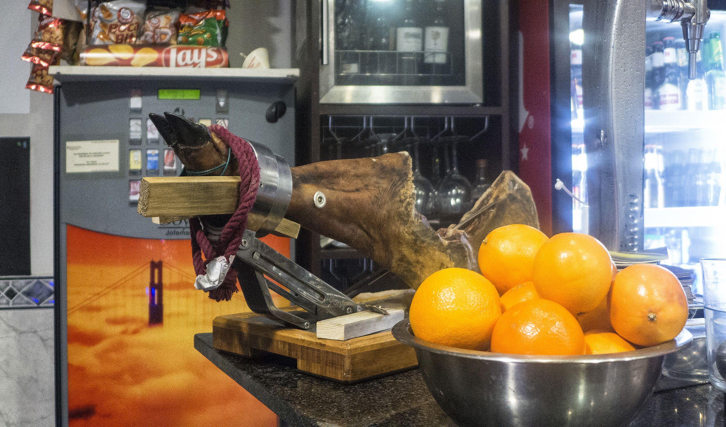 Tapas y bocadillos en Barcelona