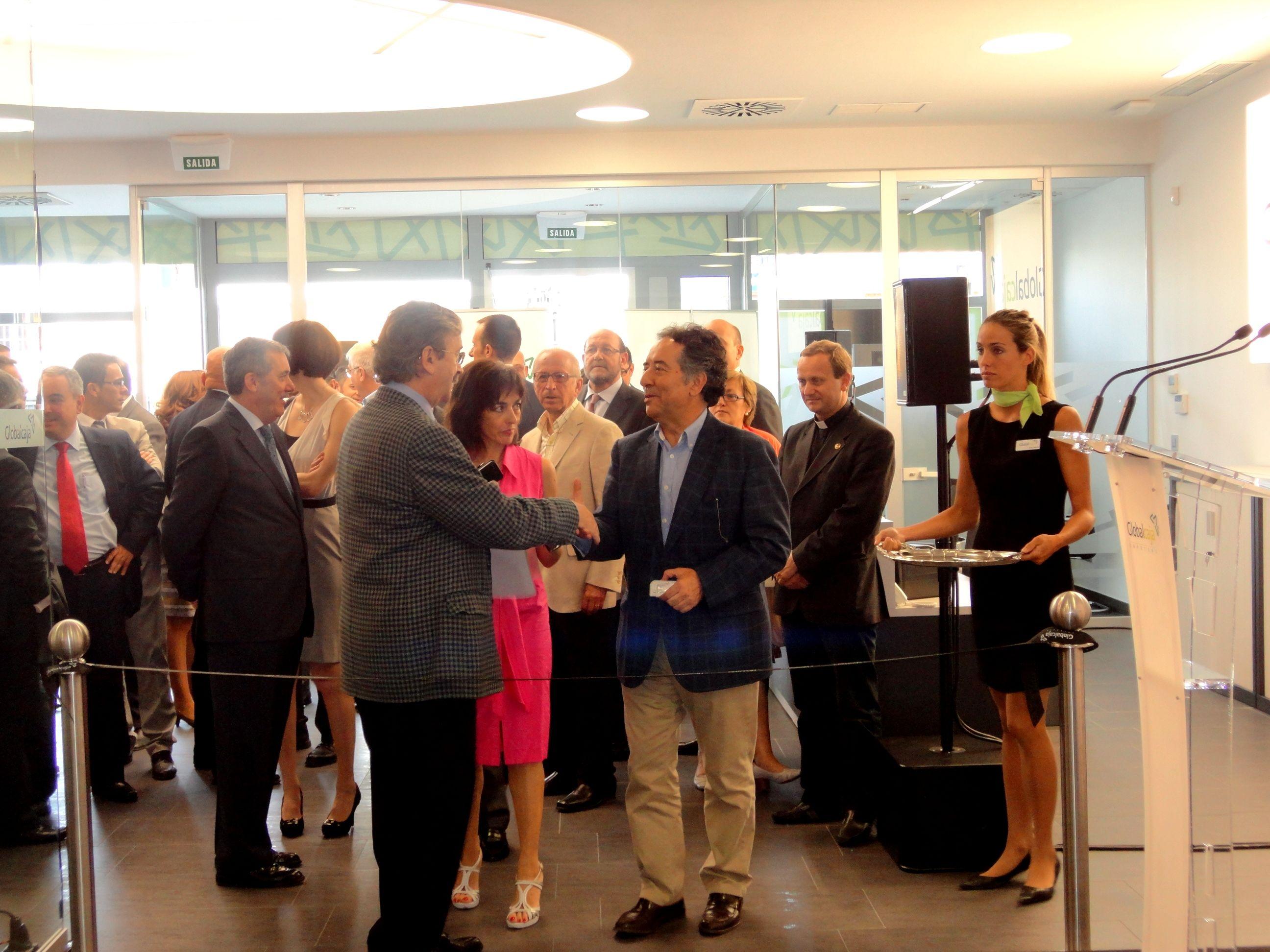 Inauguración oficina empresas de GLOBALCAJA - Toledo