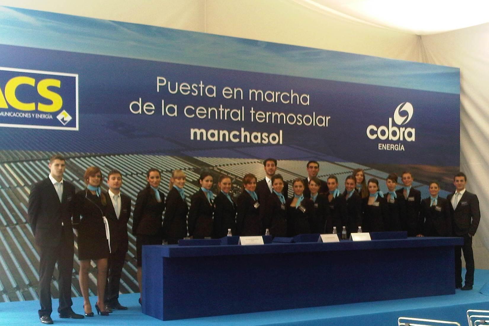 Inauguración planta termo-solar MANCHASOL - Alcázar de San Juan (Ciudad Real)