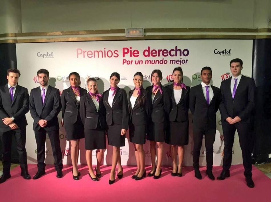 azafatas en Madrid