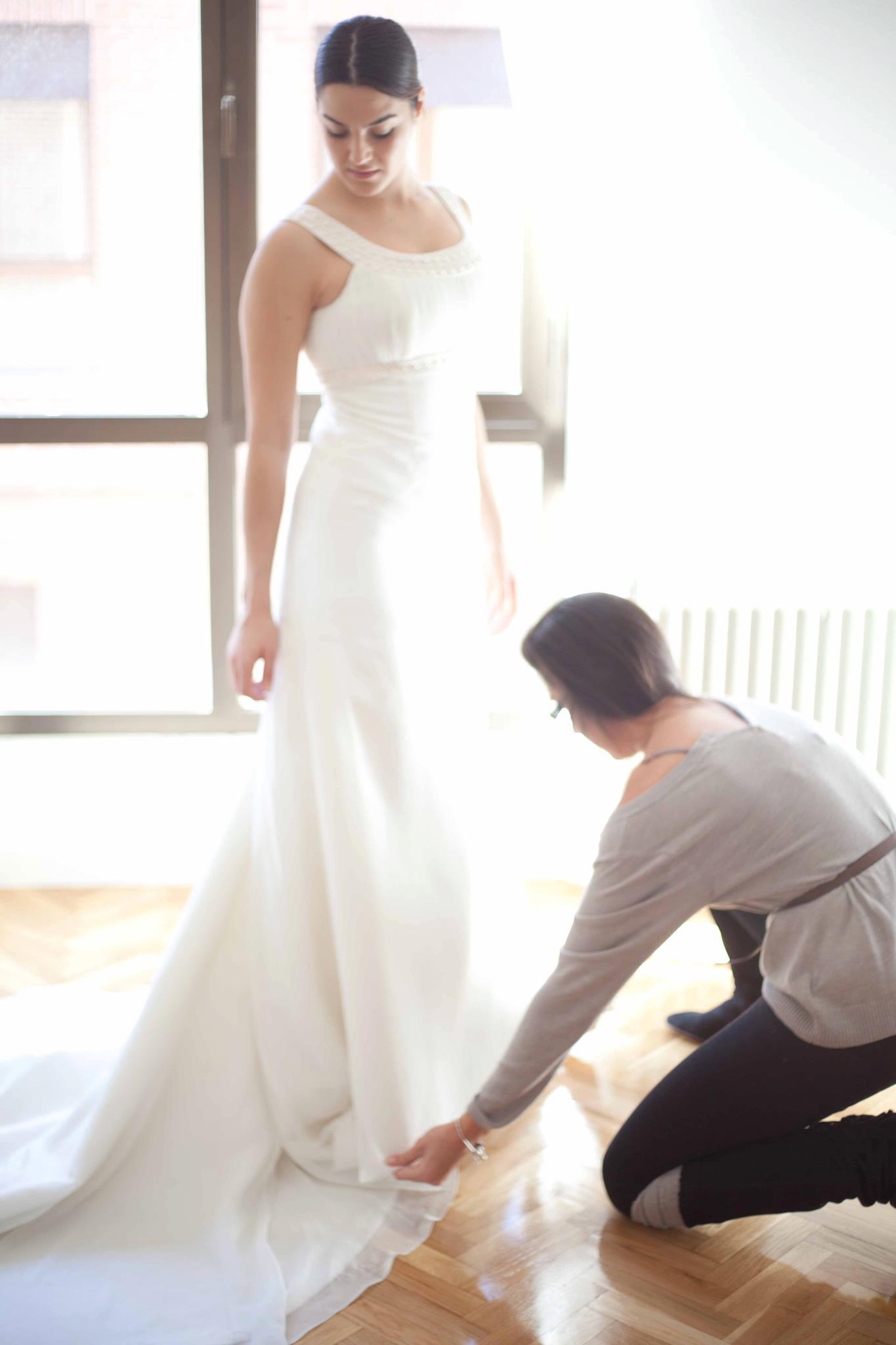 Sesión de fotos trajes de novia