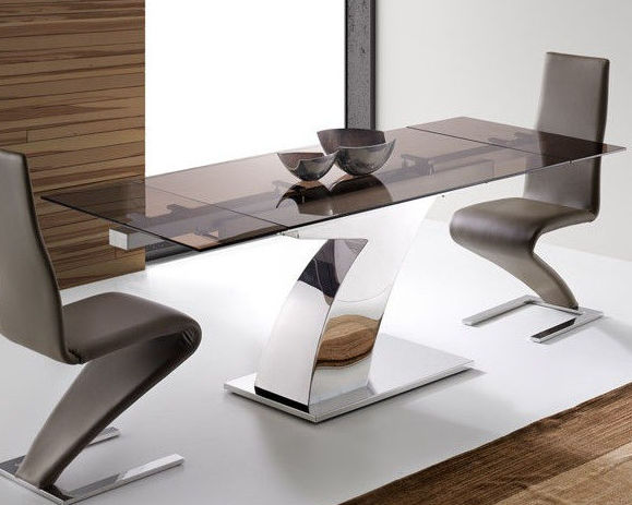 Mesa comedor extensible diseño