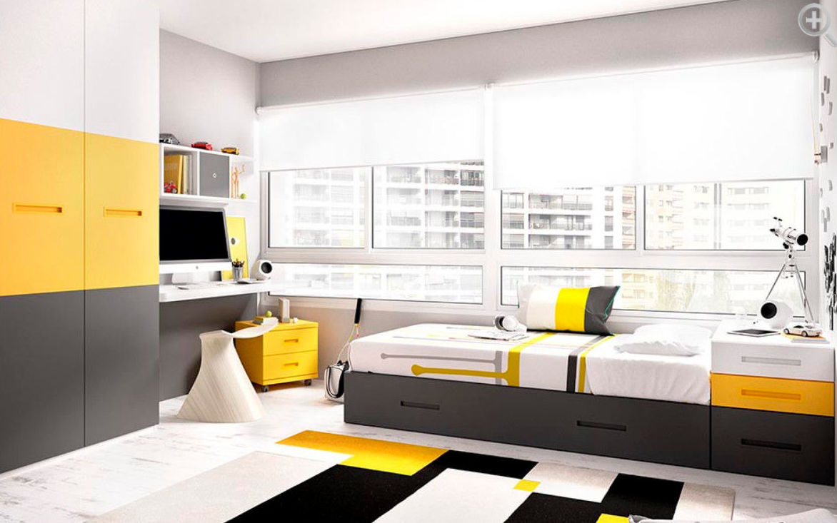 Dormitorio juvenil modular