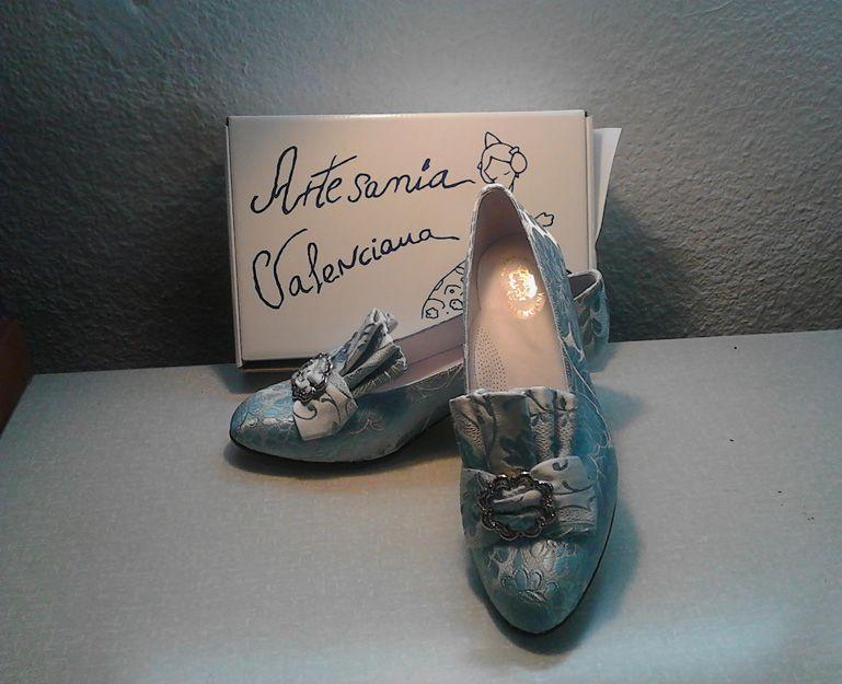 Confección de zapatos de fallera a medida en Valencia