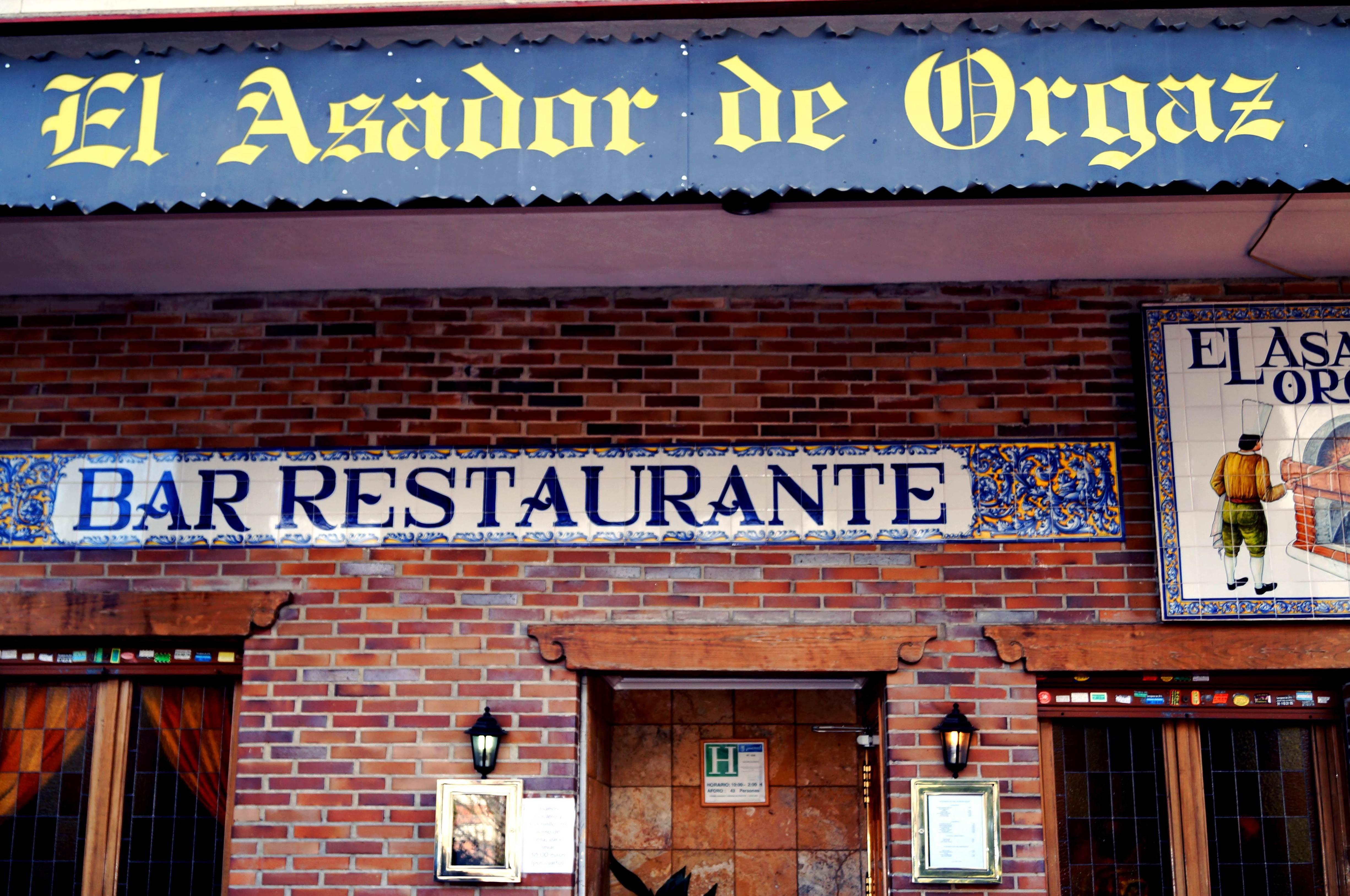 Foto 1 de Cocina mediterránea en Madrid | El Asador de Orgaz