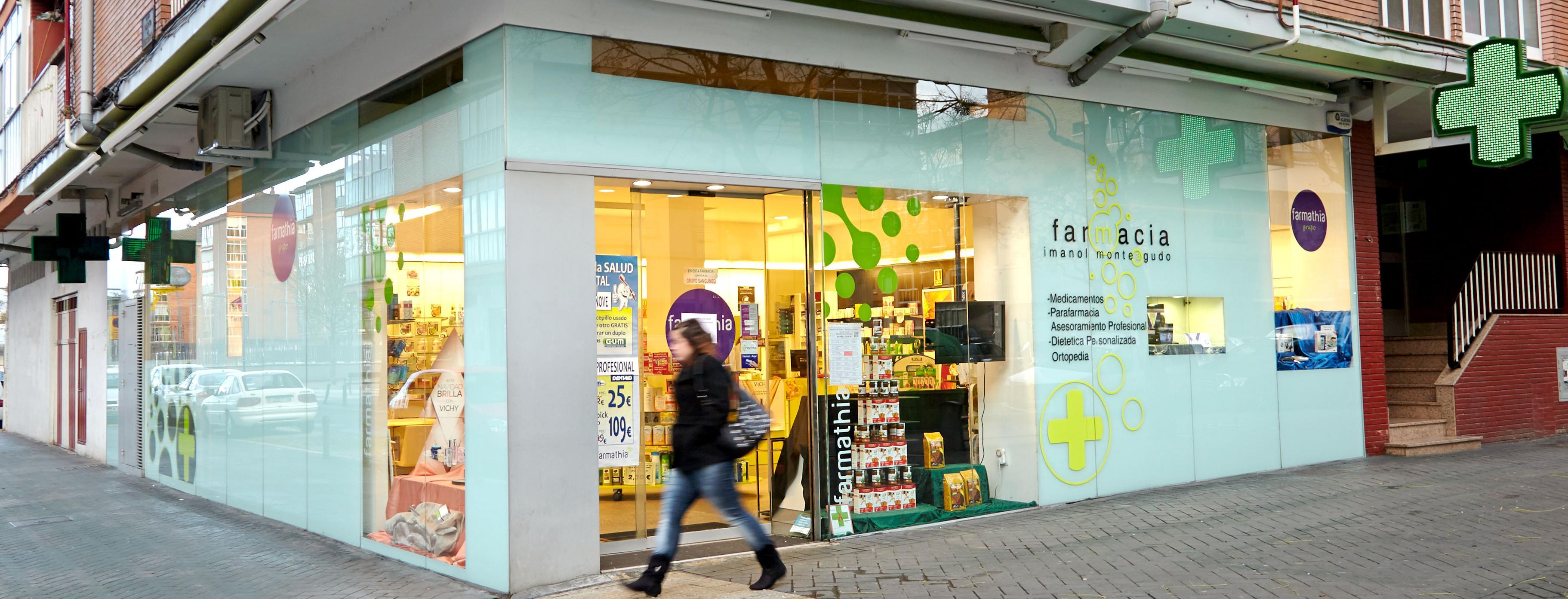 Foto 1 de Farmacias en Vitoria-Gasteiz | Farmacia Monteagudo