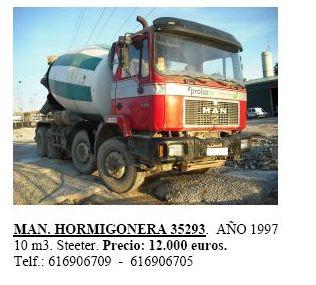 Man Hormigonera 35293 año 1997