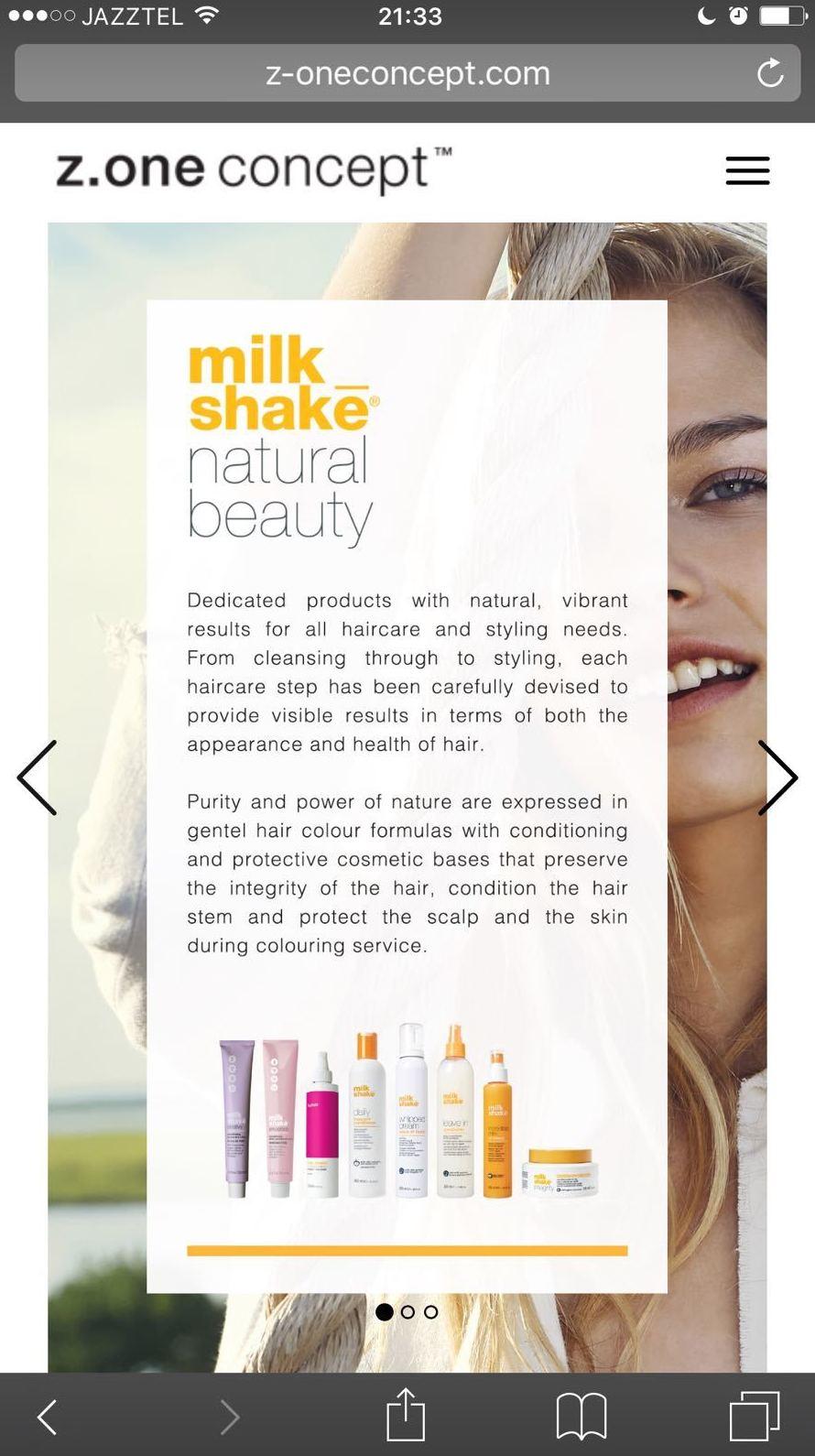 Milk Shake: Servicios de Mandarina Salón de Belleza