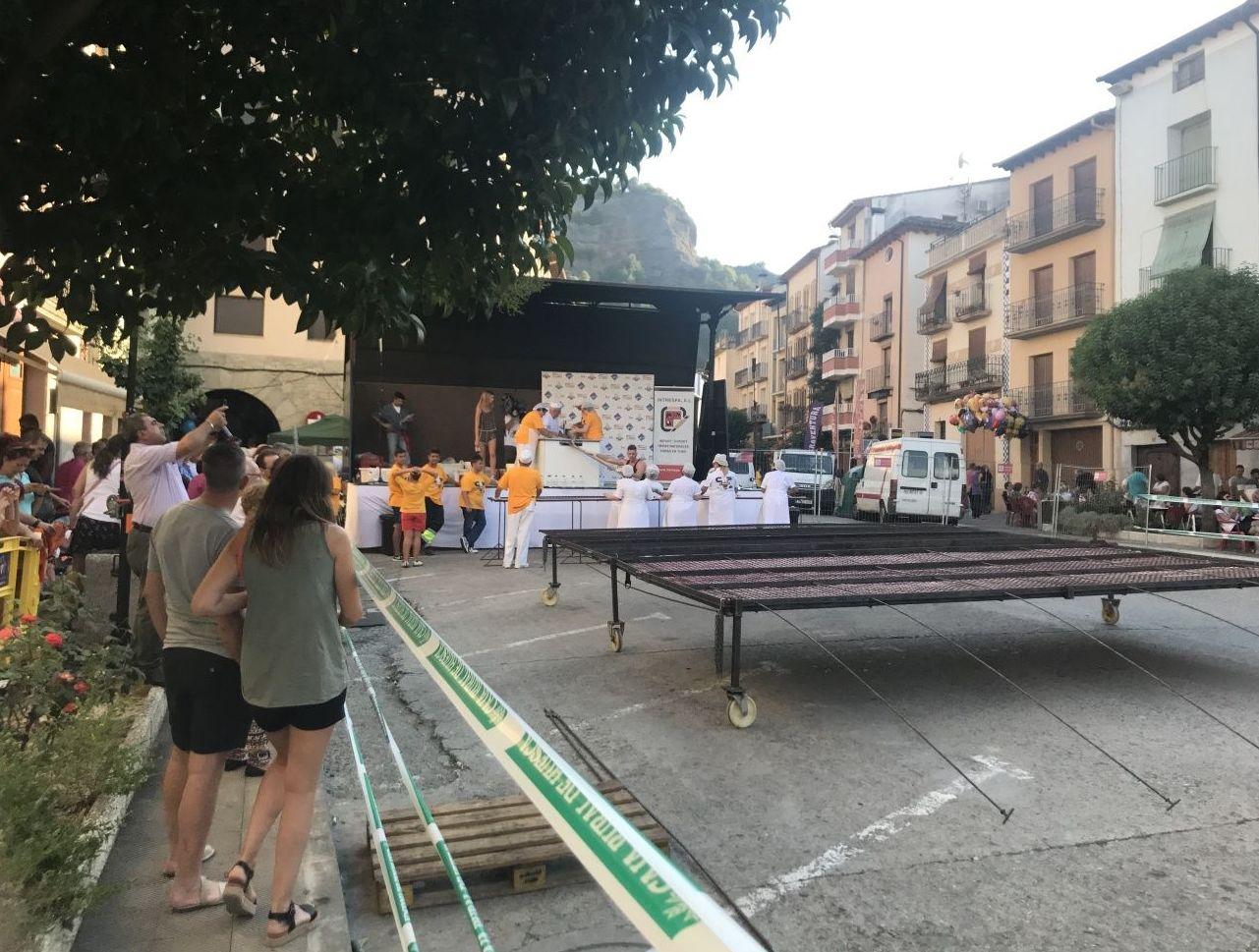 Intrespa colabora con la fiesta de la longaniza en Graus