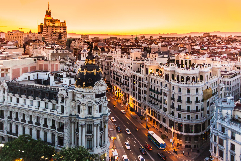 Disfruta de las calles de Madrid