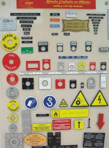 Grabados y suministros: Productos  de JYG Automática Industrial