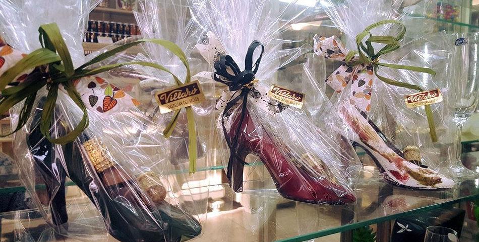 Sabates de chocolata amb bombons, ideal per dies especials!!!!