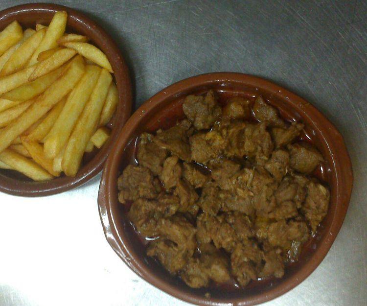 Carne fiesta en San Sebastián de la Gomera