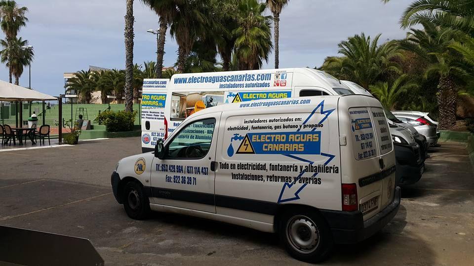 Foto 7 de Empresas de construcción en Los Realejos | Electro Aguas Canarias