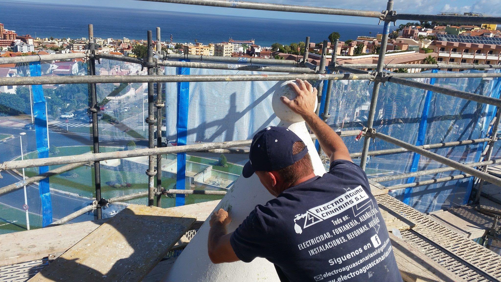 Foto 3 de Empresas de construcción en Los Realejos | Electro Aguas Canarias