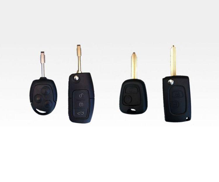 Carcasas de llaves y mandos de coches en Madrid sureste