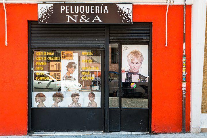 Peluquería y Barbería N&A en Madrid