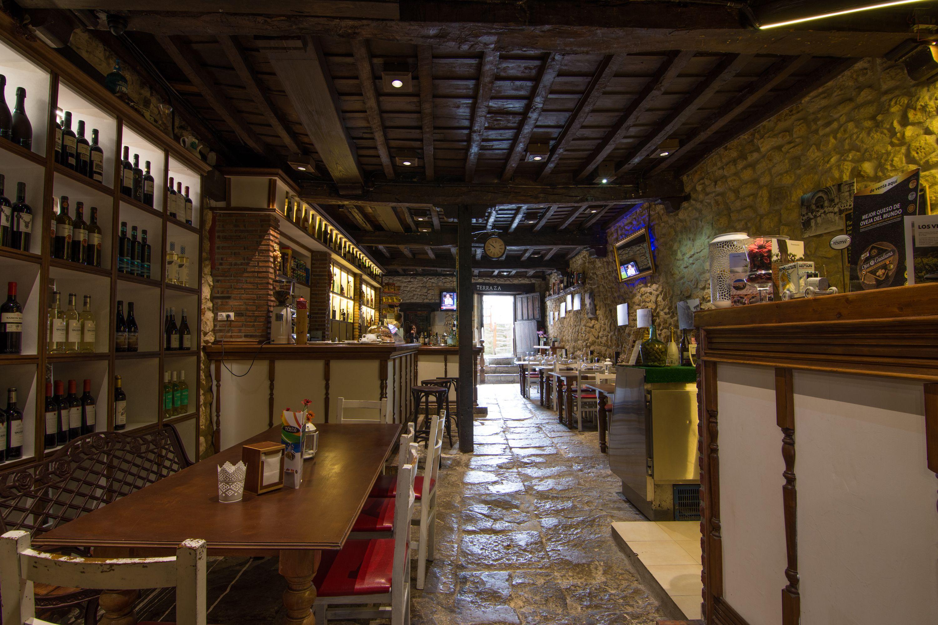 Comedor planta inferior Restaurante El Cantón
