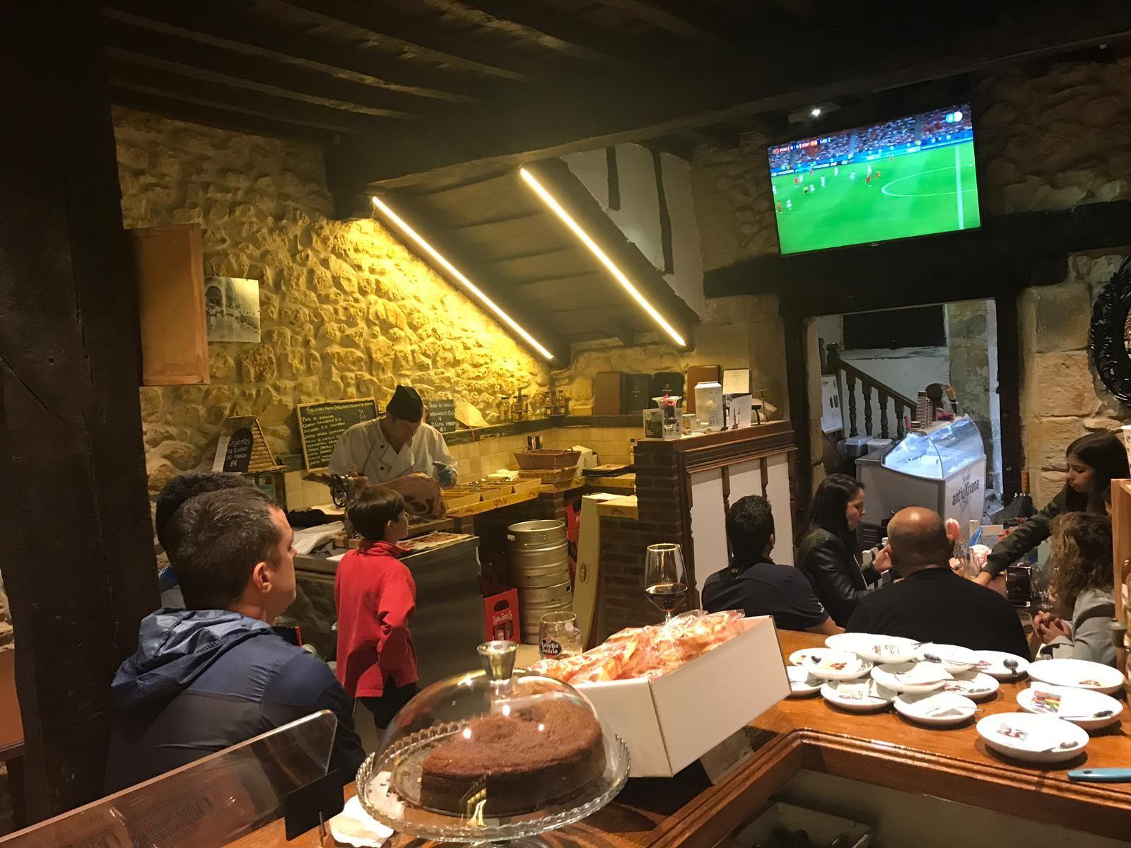 Bar restaurante Santillana de Mar