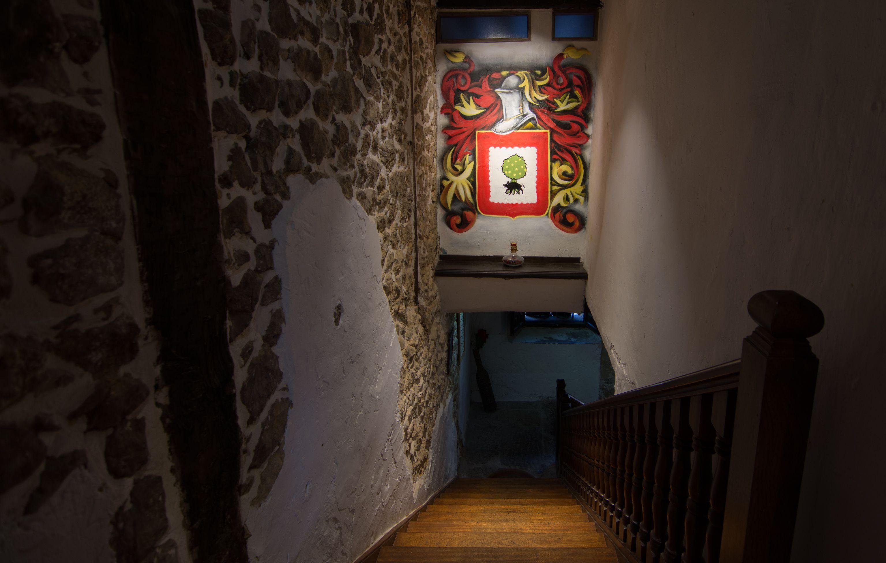 Escaleras Restaurante El Cantón