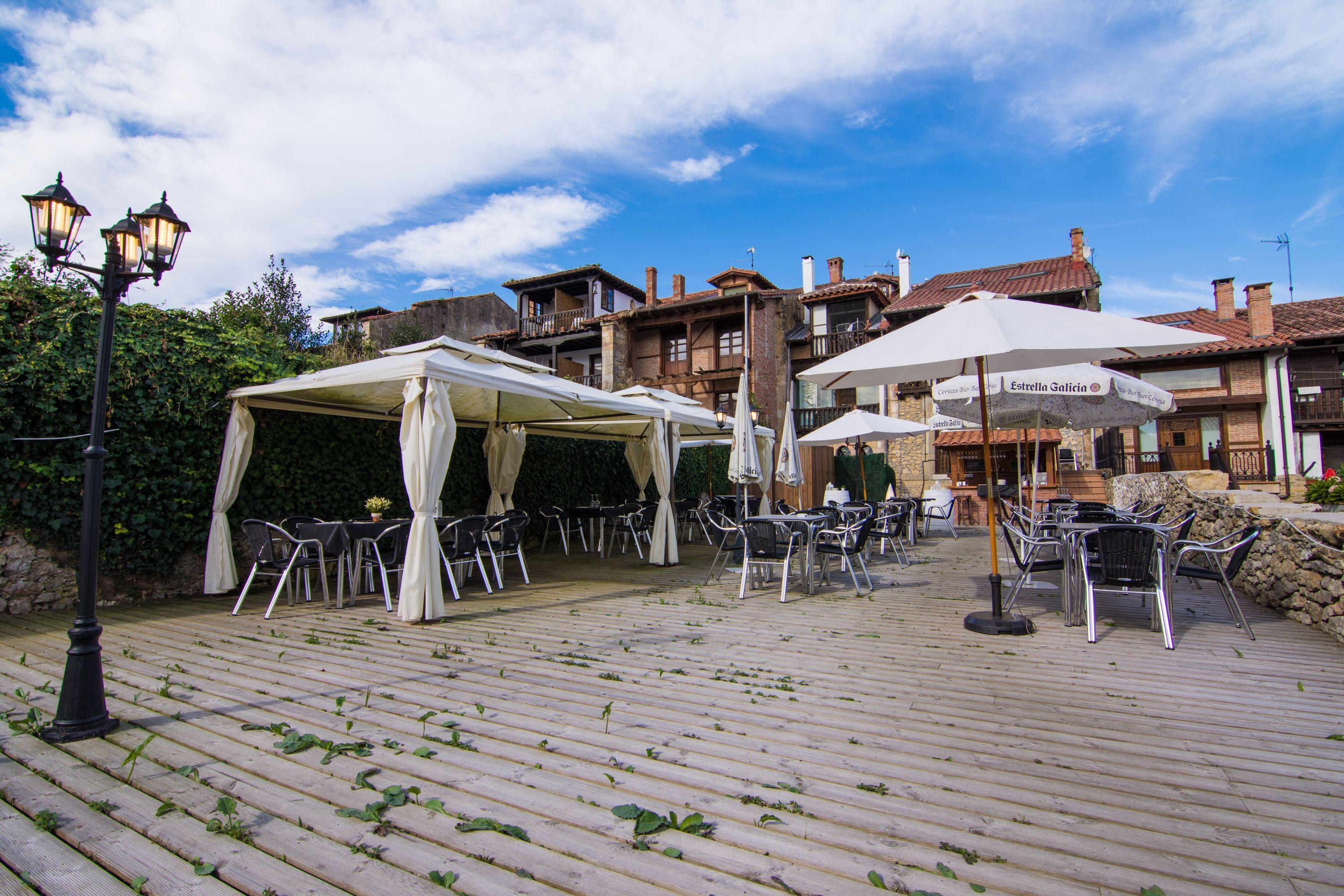 Vista exterior Restaurante El Cantón