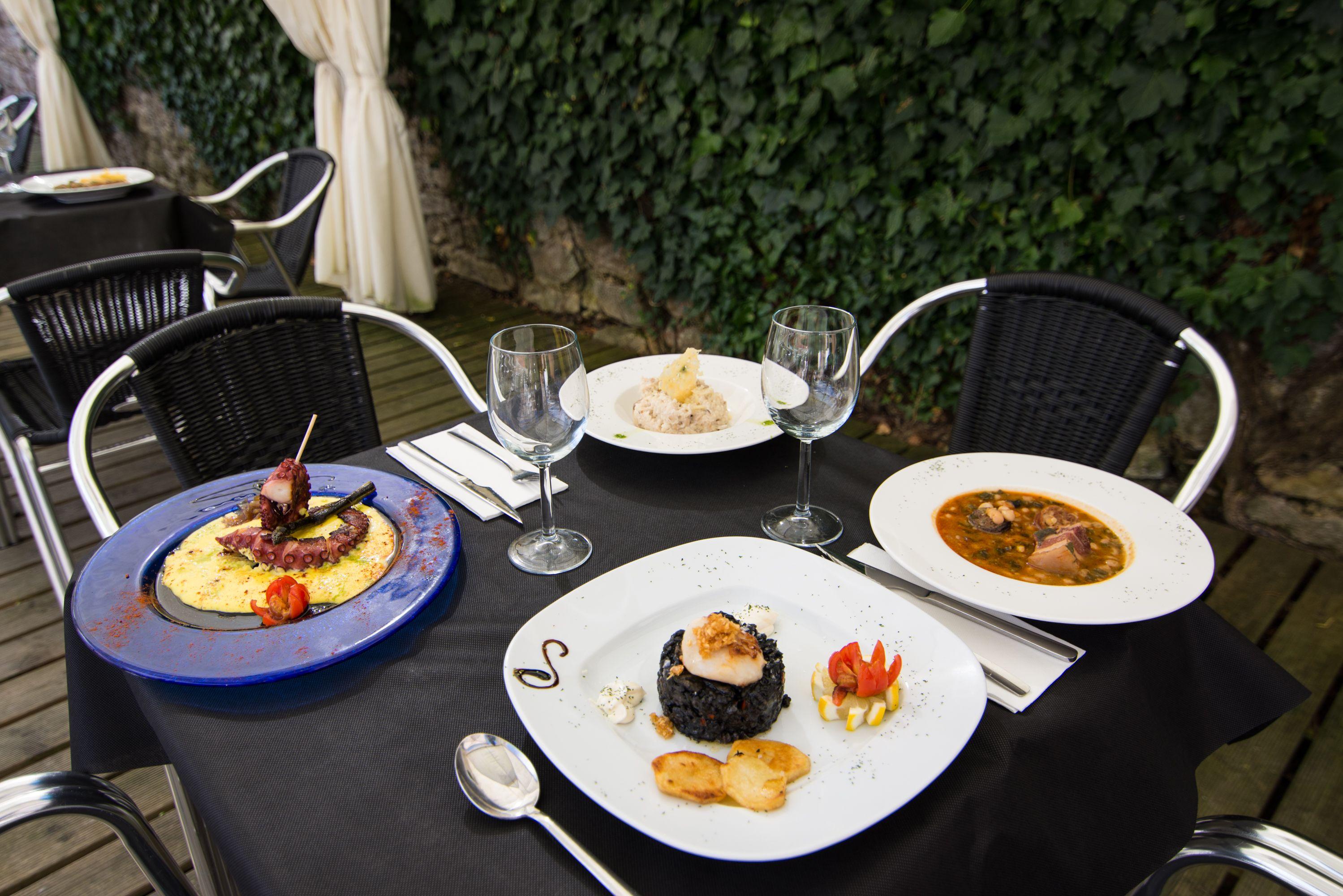 Platos Restaurante El Cantón