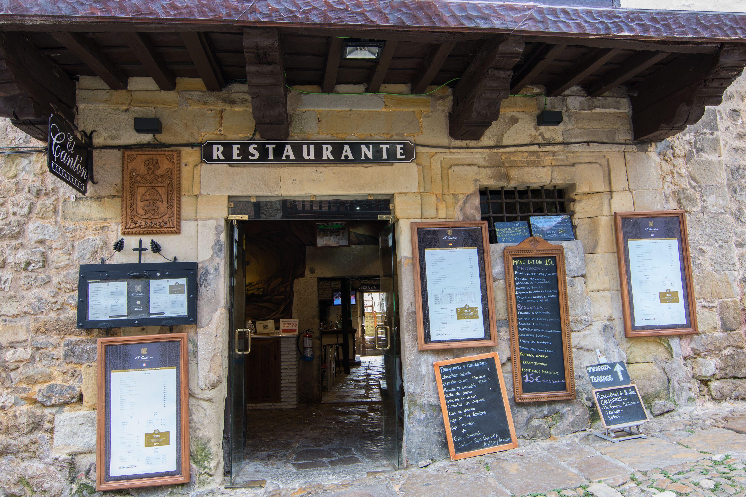 Entrada 2 Restaurante El Cantón