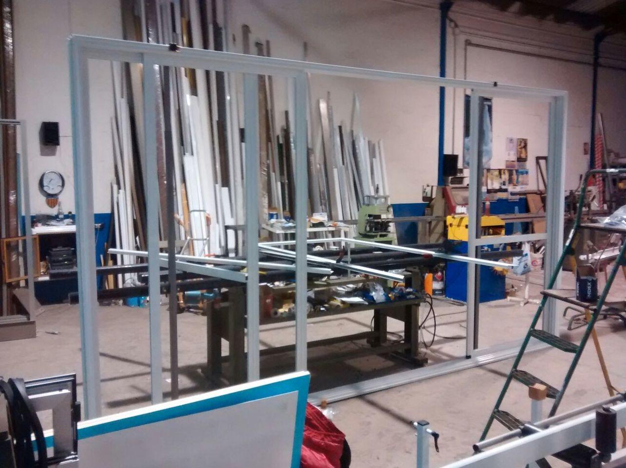Cerrajería de aluminio en Valencia