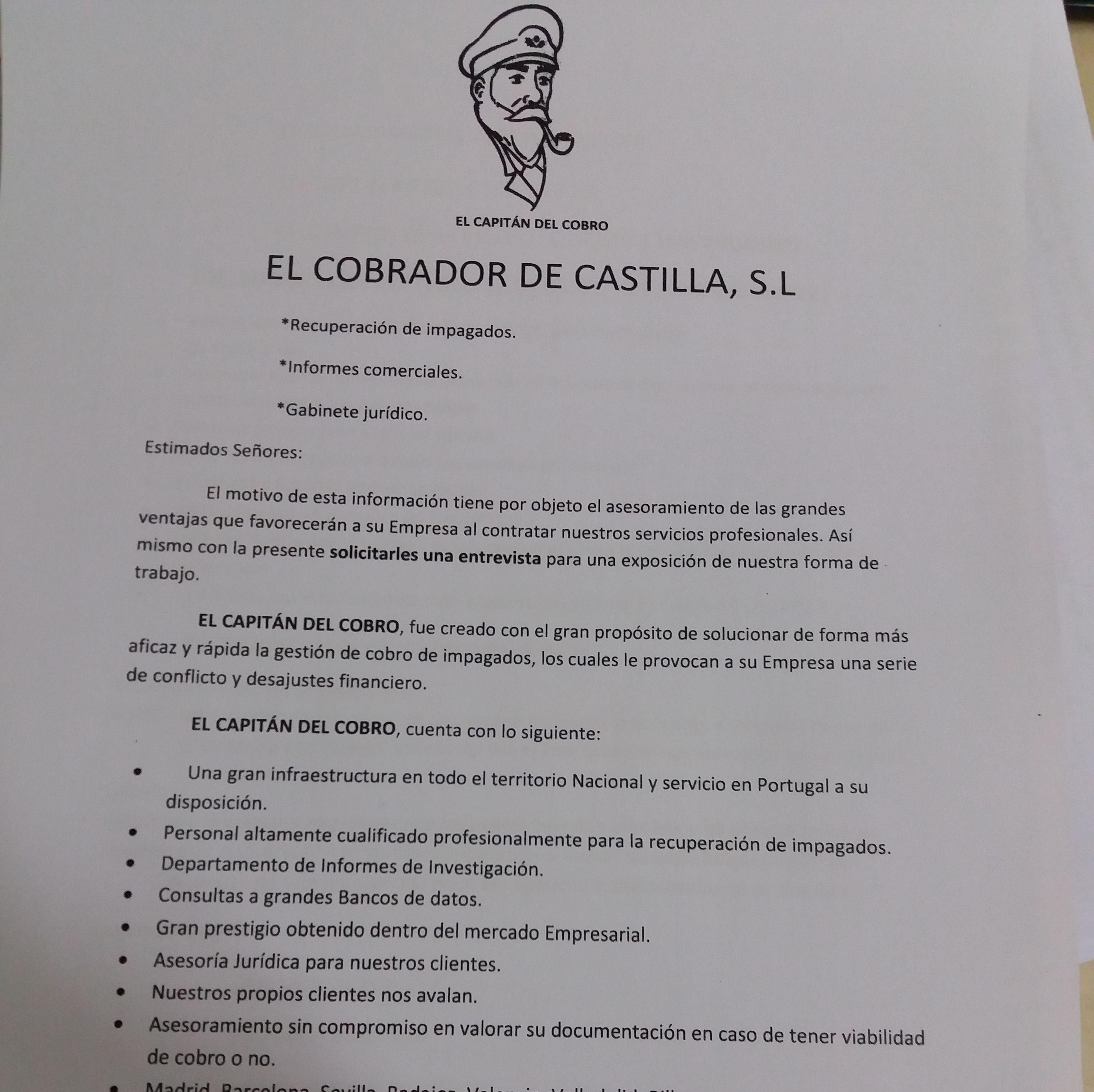 Foto 5 de Cobros en Madrid | El Capitán del Cobro (Madrid)