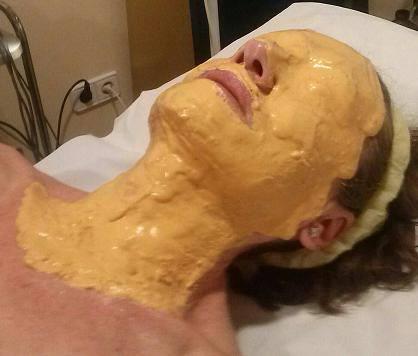 Mascarilla de Oro, reafirmante