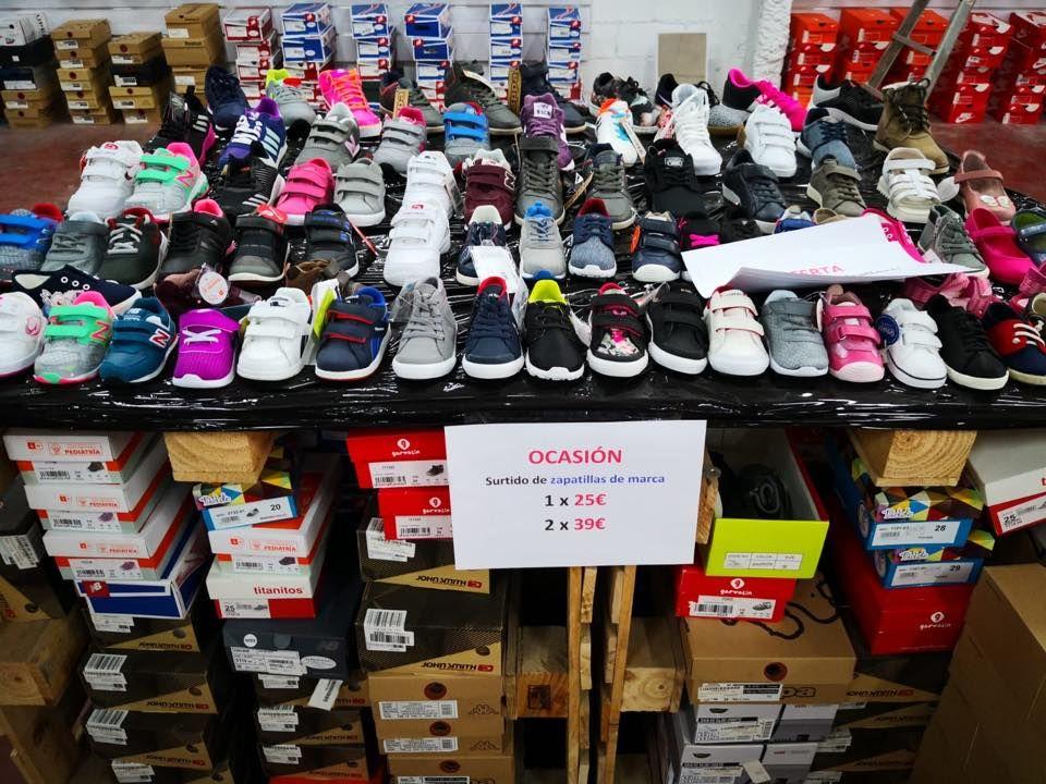 Venta zapatillas deportivas niños