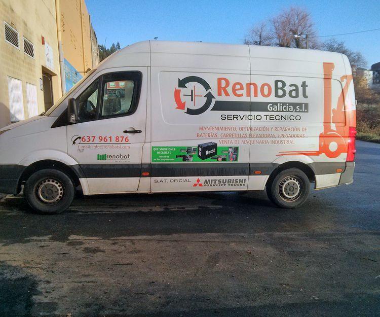 Servicio técnico de carretillas elevadoras en Galicia